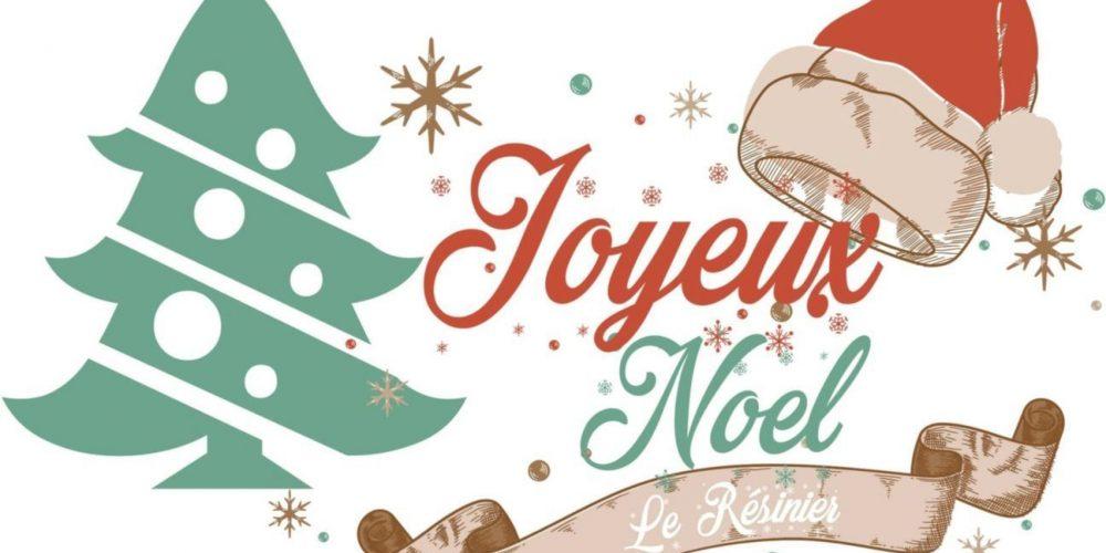 C'est Noël au Résinier !